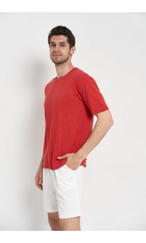 Футболка короткий рукав. Y.TWO F039 Красный