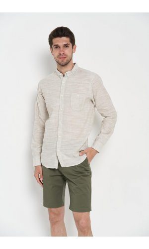 Рубашка длинный рукав Dannar Honnor 1856-1 Бежевый