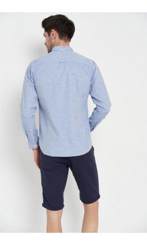 Рубашка длинный рукав Dannar Honnor 1876-01 Синий