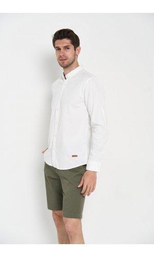 Рубашка длинный рукав Dannar Honnor 1876-2 Белый