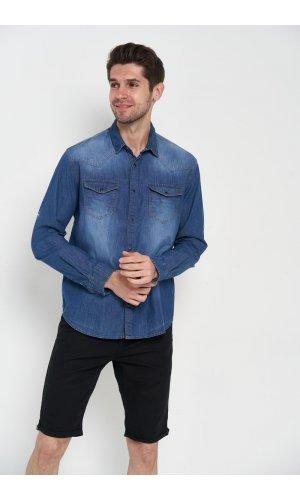 Рубашка Madoc GOM083108911001 Синий