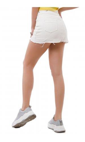 Юбка-шорты Remix W 3395 Белый