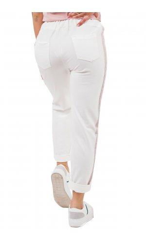 Брюки спорт  One Love 5178 (Белый)