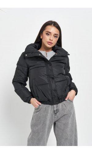 Куртка синтепон Hojziyuan 2107 (Черный)