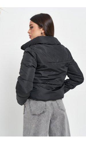 Куртка синтепон Hojziyuan 707 (Черный)