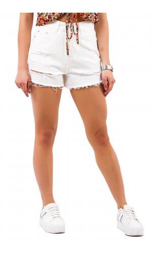 Шорты джинсовые Cool 5636-3 (Белый)