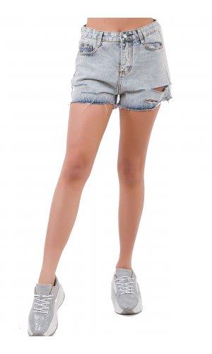 Шорты джинсовые American Angel 6191 Голубой