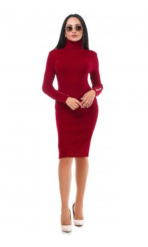 Платье Дл/рук Remix W D619 (Красный )