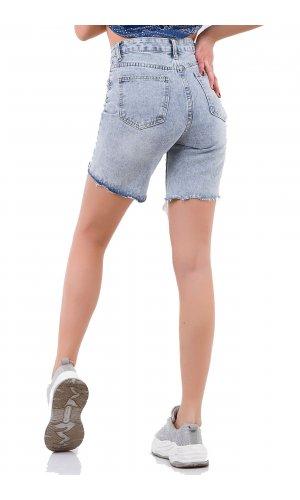 Шорты джинсовые AFD 6852 Голубой