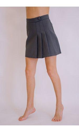 Юбка-шорты Xiu xiu 6855 (Серый)
