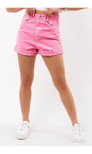 Шорты джинсовые Frendy T266 (Розовый)