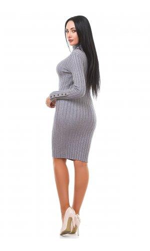 Платье Дл/рук Remix W D781 (Серый )