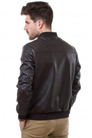 Куртка кожзам Puduoli 7875 Черный - фото 1