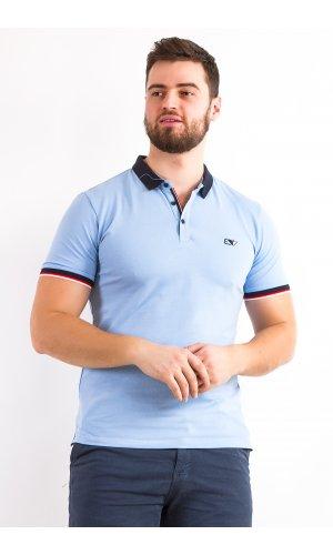 Поло Alexbenson 82001 (Голубой)