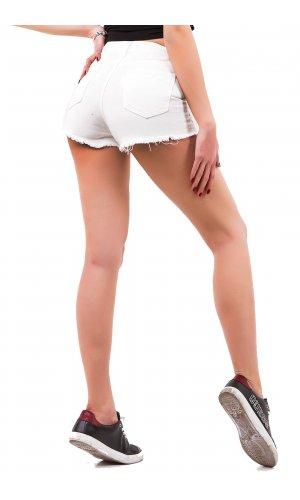 Шорты джинсовые Remix W 8699 Белый