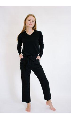 Пуловер Remix W 032 (Черный)
