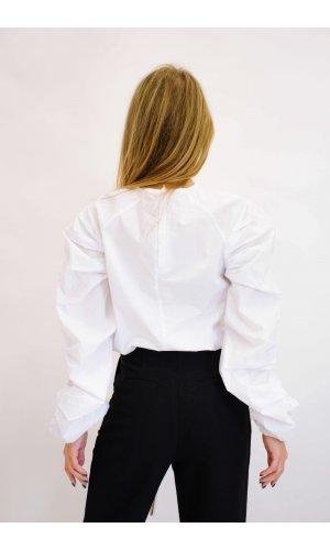 Блуза Дл/рукав Mix 9198 (Белый)