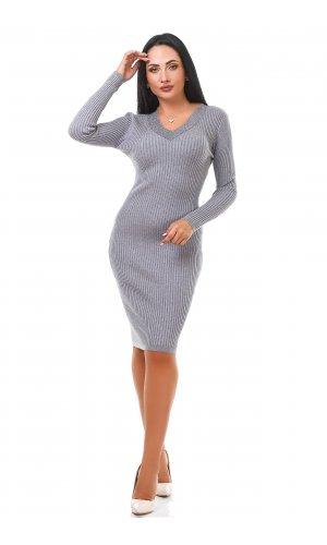 Платье Дл/рук Remix W D081 (Серый )