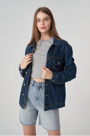 Куртка джинсовая Jlab+Remix EU0001 Синий - фото 2