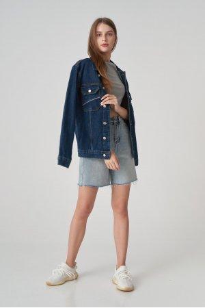 Куртка джинсовая Jlab+Remix EU0001 Синий - фото 1