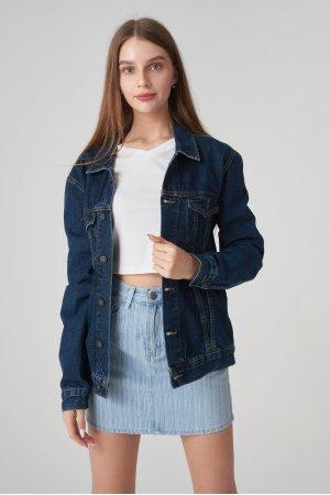 Куртка джинсовая Jlab+Remix EU0002 Синий - фото 2