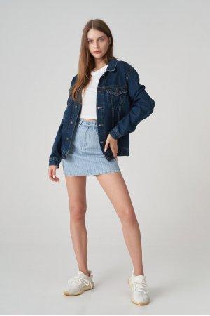 Куртка джинсовая Jlab+Remix EU0002 Синий - фото 1
