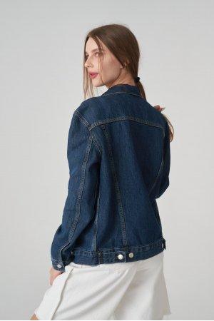 Куртка джинсовая Jlab+Remix EU0005 Синий - фото 1