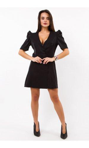 Платье + пояс ANY DR856 (Черный)