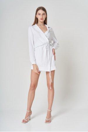 Платье Дл/рук Remix W V1977-1 Белый - фото 2