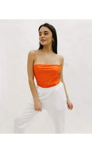 Боди Moda 3595 (Оранжевый)