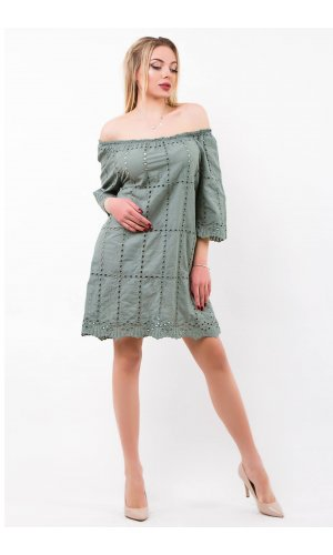 Платье Billi Fashion/More P880 (Хаки)