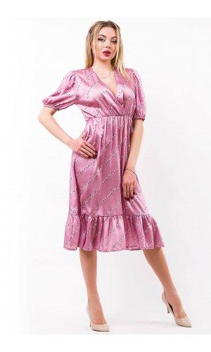 Платье Lumina L1252 (Сиреневый)