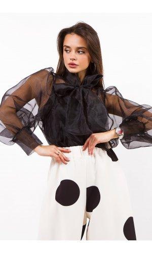Блуза Lumina L1050 (Черный)