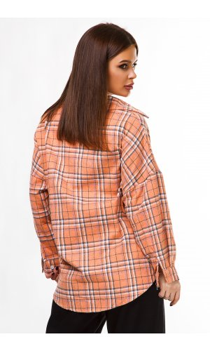 Рубашка дл/рукав Macro 3366 (Оранжевый)