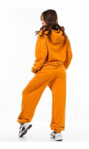 Костюм толстовка + брюки Jlab+Remix V1998-109 (Оранжевый)