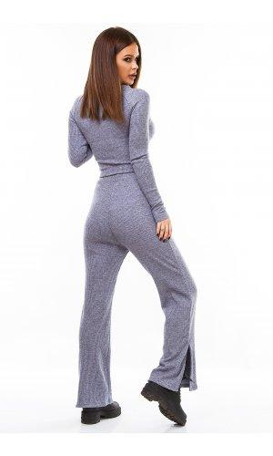 Костюм пуловер+брюки Jlab+Remix V1998-113 (Серый)