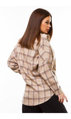 Рубашка дл/рукав Macro 3366 (Бежевый)