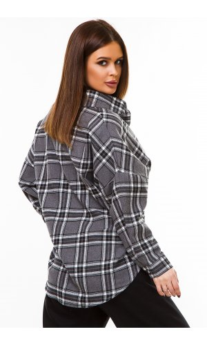 Рубашка дл/рукав Macro 3366 (Серый)
