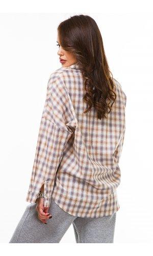 Рубашка дл/рукав Macro 3366 (Св.Бежевый)