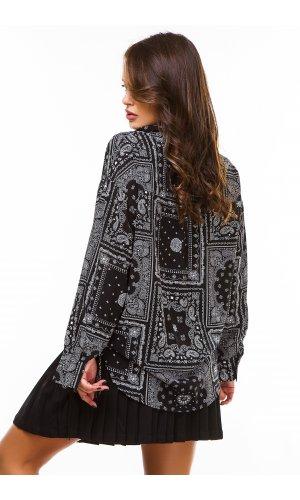 Блуза Grace Li 8692 (Черный)