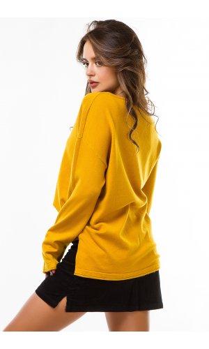 Пуловер Remix W 1860 (Горчичный)