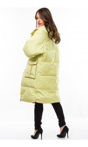 Пальто синтепон Manisan 2022 (Салатовый)