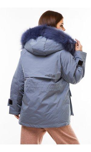 Куртка синтепон Miss You 603 (Голубой)