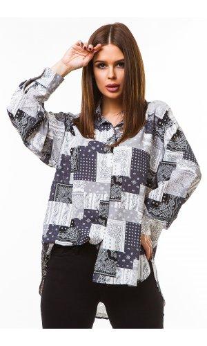 Блуза Grace Li 8666 (Черный)