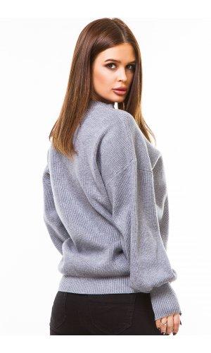 Пуловер Remix W D075 (Св.Серый)