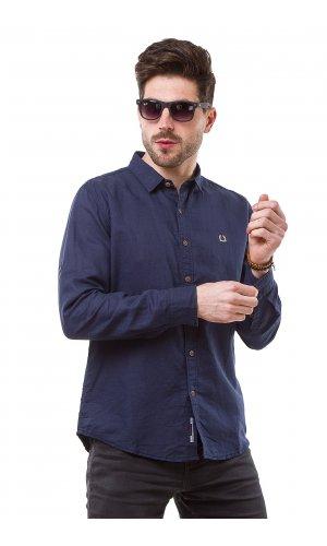 Рубашка L-988 (темно синий)