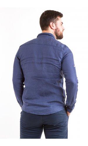 Рубашка L209 (синий)