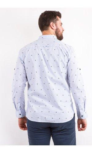 Рубашка Дл/рукав Jlab+Remix LA05 (Голубой)