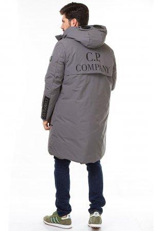 Куртка синтепон. CP Company 8-977 Серый - фото 1