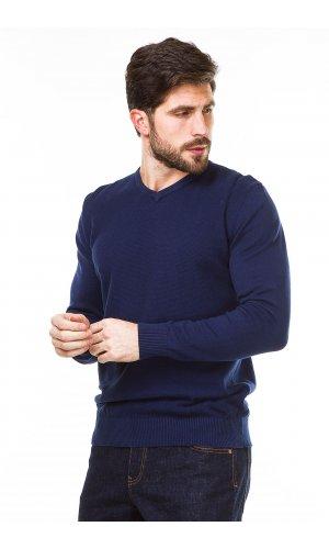 Пуловер Jlab+Remix HM-8678 (Синий)